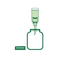 Füllt die unverpackten Lebensmittel in eure mitgebrachten Dosen, Gläser oder Beutel.
